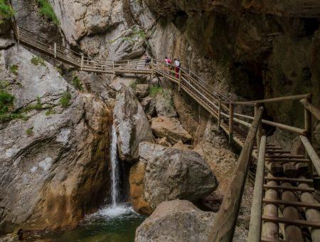 Nature Park Almenland: Bärenschützklamm