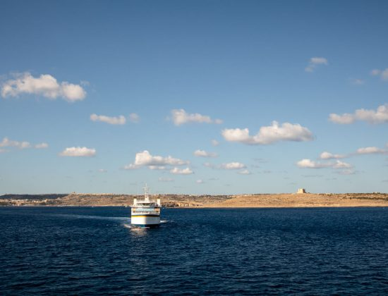 A Windy Crossing To Gozo