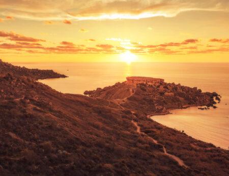 Ghajna Tulffieha Sunset