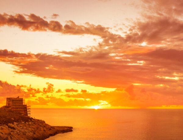 The Sunset of Xlendi